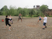 Practicing KungFu in ShaXi
